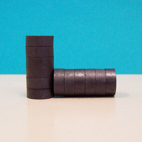 "MINI 1/2"" Strong Ceramic Magnets ONLY - 1000"