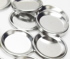 "Indented Backs ONLY for 1-1/4 Inch ( 1.25"" ) Tecre Buttons - 500 pcs-FREE SHIPPING"