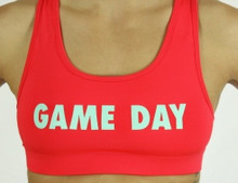 'GAME DAY' Sports Bra