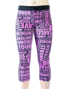 INSPIRED BY CANCER Sports Leggings