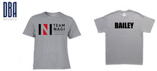 'TEAM NAGI' Unisex Performance T-shirt