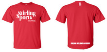 'STIRLING SPORTS' Red T-Shirt Camp Range 2016 - 2017