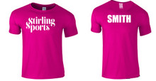 'STIRLING SPORTS' Personalised T-Shirt