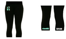'MLF' Black Leggings (Single Colour)