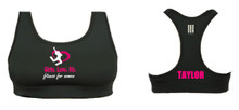 'Girls Love Fit' Sports Bra (PERSONALISED)