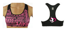 IBC 'Girls Love Fit' Sports Bra