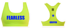 'FEARLESS' Stowe Sports Bra (PERSONALISED)