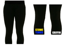 'STOWE' Black Leggings