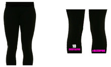 'CENTAURS' Black Leggings