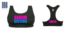 'SARUM SISTERS' Sports Bra (PERSONALISED)