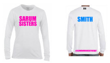 'SARUM SISTERS' Performance Long Sleeve T-shirt.