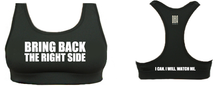 '#BBTRS' Black Sports Bra