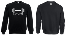 'AMYLIFTS' Black Sweatshirt