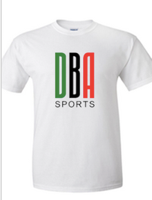 'KENYA LACROSSE' White performance T-shirt