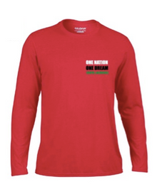 'KENYA LACROSSE' Red long sleeve