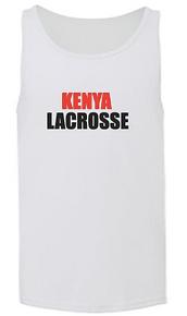 'KENYA LACROSSE' Men's tank
