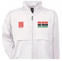'KENYA LACROSSE' Unisex waterproof windbreaker