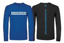 'SUPPORT THE NHS' Personalised Long Sleeve