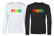 'PROUD' Long Sleeve T-shirt