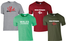 'WALES' T-shirts