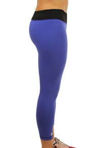 'DREAM BELIEVE ACHIEVE' Royal Blue Leggings
