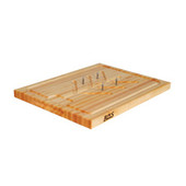 "John Boos Maple Slicer Board - 20""x 15""x 1-1/4"""
