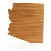 Arizona State Shaped Cutting Boards