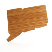 Connecticut State Shaped Cutting Boards