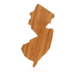 new jersey state shaped cutting boards a cut above the rest bamboo. Black Bedroom Furniture Sets. Home Design Ideas