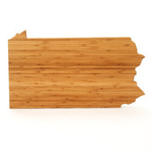Pennsylvania State Shaped Cutting Boards