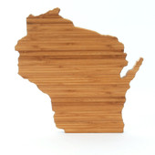 Wisconsin State Shaped Board