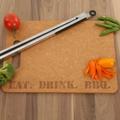 Eat. Drink. BBQ. High Temp Cutting Board