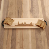 City Skyline Maple Bread Board