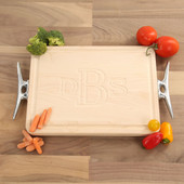 Carved Maple Rectangle Cutting Board