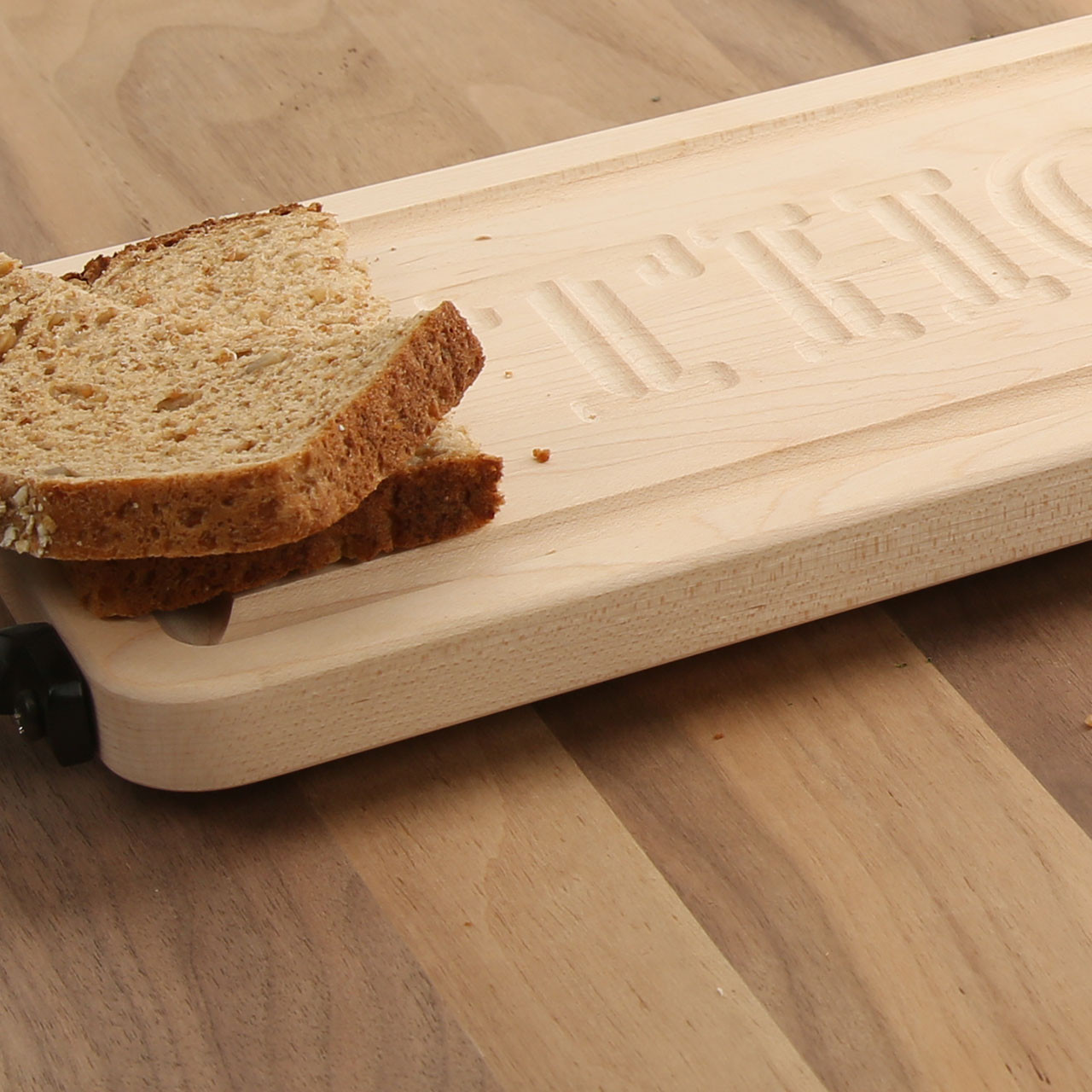 Personalized carved maple bread board cuttingboards