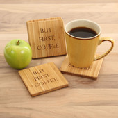 But First, Coffee Coaster Set