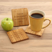Drink Responsibly Coaster Set