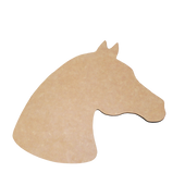 Horse Shaped Cutting Board