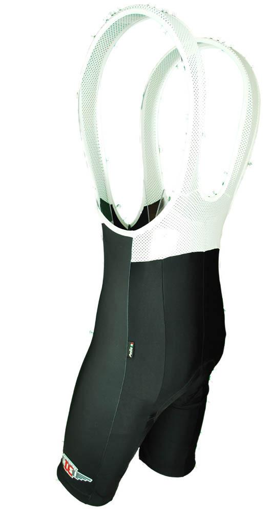Cerchi Nisi Black Bib Shorts Rear