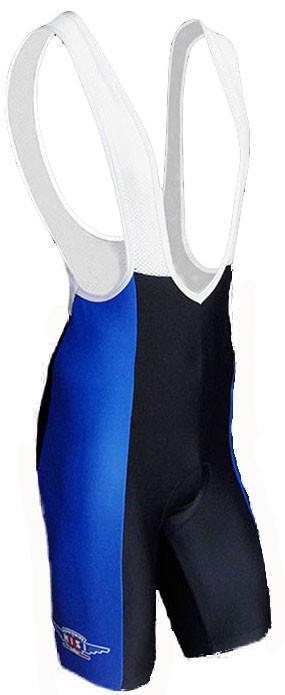 Cerchi Nisi Blue Bib Shorts