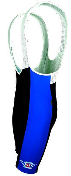 Cerchi Nisi Blue Bib Shorts Front