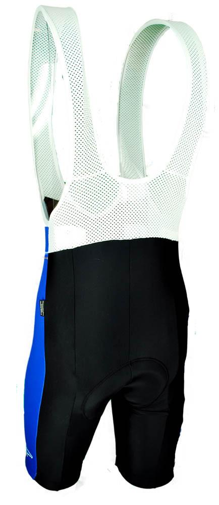 Cerchi Nisi Blue Bib Shorts Rear
