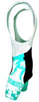 Bianchi Milano Tambre Green Black Bib Shorts Front
