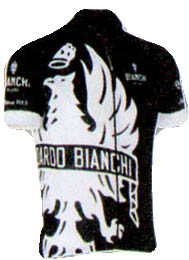 Bianchi Milano Cinca Black White Jersey Front View