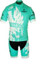 Bianchi Milano Cinca Green White Jersey Front