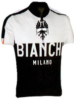 Bianchi Milano Nalon White Black Jersey