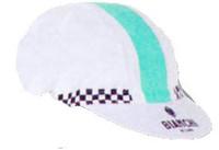 Bianchi Milano Neon White  Green Strip Cap