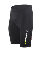 Nalini Candelaro Black Fluorescent Waist Shorts
