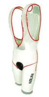 Nalini Fino Black Fluorescent Bib Shorts Front