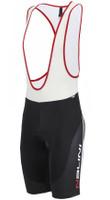 Nalini Sinello Black Red Bib Shorts